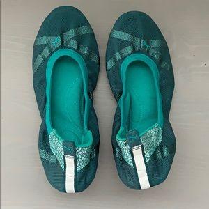 Puma Axel Ballet Flat - blue grass / deep teal